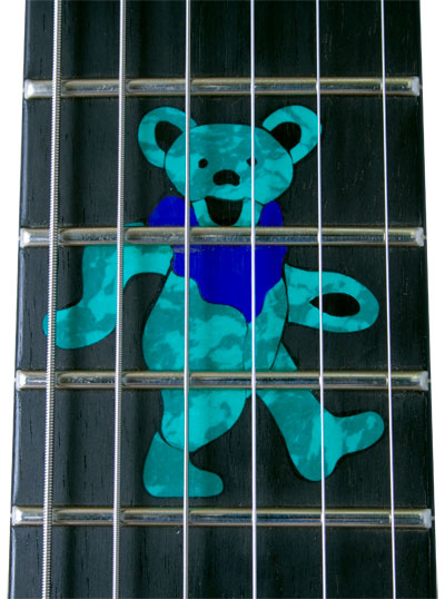 Inlay frame Grateful Dead Guitar Inlay
