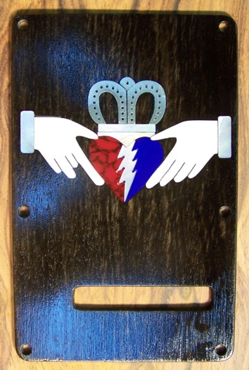 Fender, Guitar Custom Inlay, Grateful Dead Trim Plate