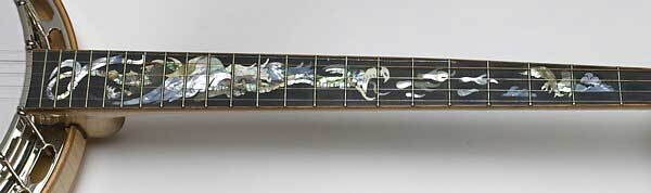 Custom Roc Bishline Banjo Inlay