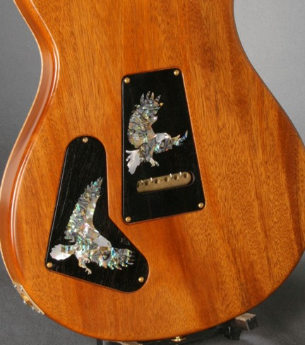 PRS,Paul Reed Smith Custom, Inlay, Flying Eagle, Control Plate,Trim Plate,Guitar Inlay