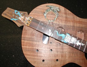 Warmoth Custom Inlay Wizard Guitar