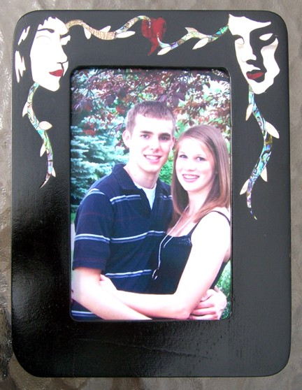 Custom Inlay Picture Frame