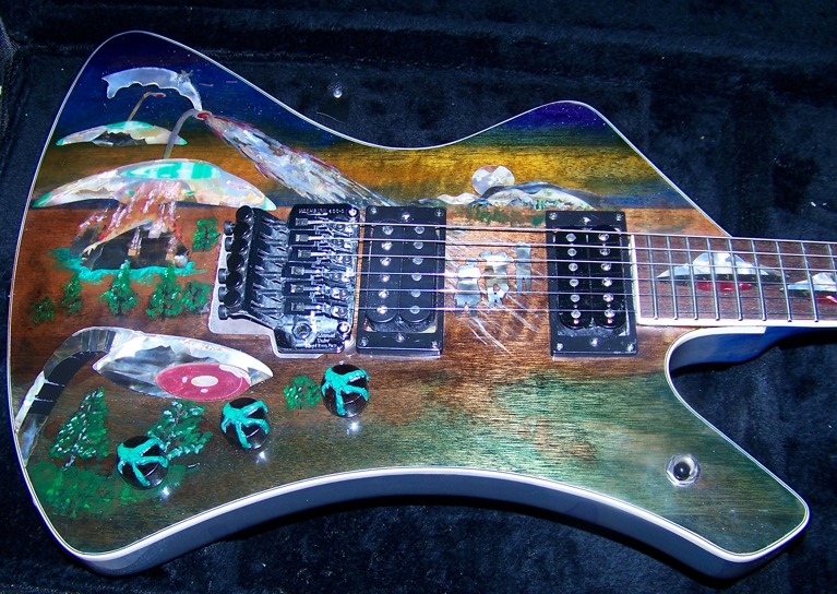 Custom Inlay,Guitar Inlay,Shark Inlay,Control Plate