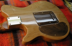 Shark Inlay Custom Guitar Inlay