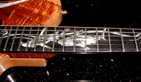 Custom Guitar Fretboard Inlay