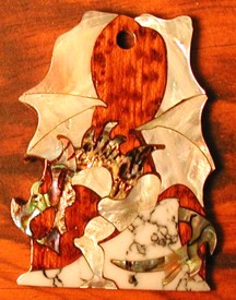 Dragon Truss Rod Cover
