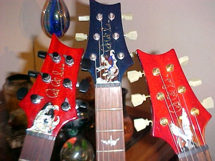 Paul Reed Smith ( PRS ) Eagle and Dragon Custom Truss Rod Cover