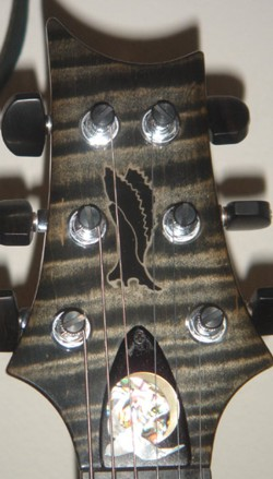 Paul Reed Smith ( PRS ) Custom Birds and Moons Truss Rod Cover
