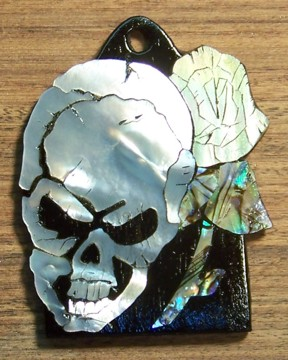 Custom PRS Paul Reed Smith Truss Rod Cover Inlay