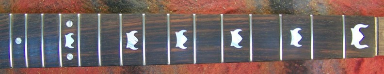 Custom Inlay,Fretboard Inlay,Fret Markers,Gibson,Gibson SG,Shark Inlay,The VIking