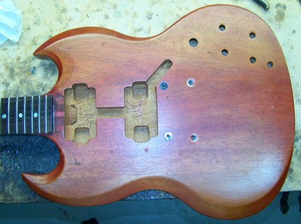 Gibson SG, Gibson Guitar, Guitar Repair, Guitar Inlay