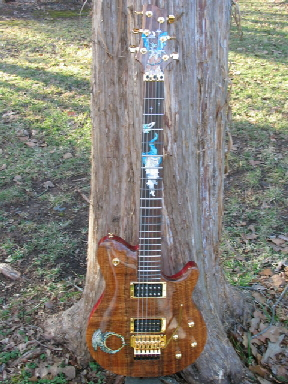 Warmoth Custom Inlay