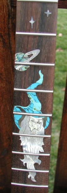 Warmoth Custom Fretboard Inlay